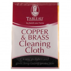 Тканевая салфетка для чистки меди и латуни Copper & Brass Cleaning Cloth & Mitt
