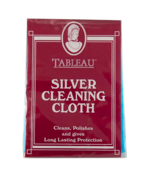 Салфетка для чистки серебра Silver Cleaning Cloth & Mitt
