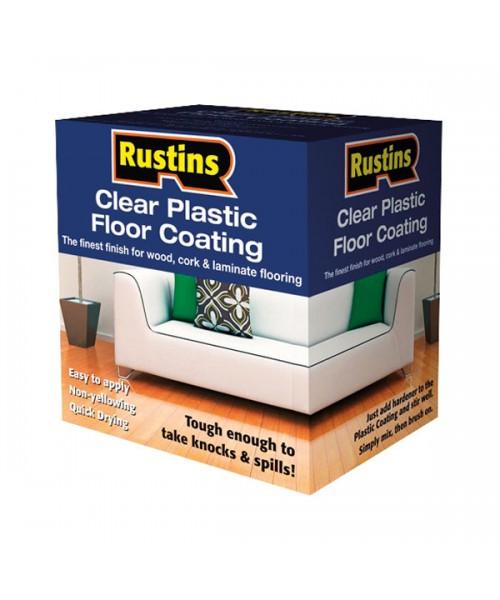 Лак для пола Двухкомпанентный - наборы Plastic Floor Coating (глянец)