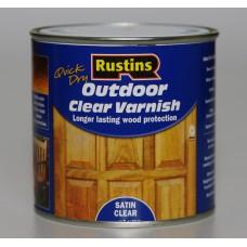 Прозрачный лак для внешних работ Outdoor Clear Varnish