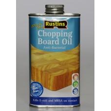 Антибактериальное масло для разделочных досок Chopping Board Oil Rustins