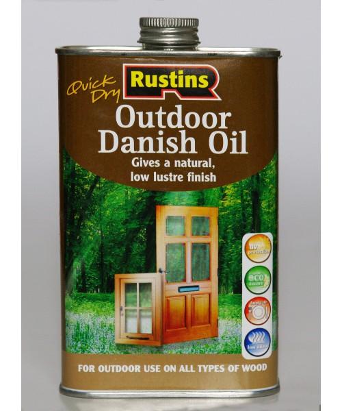 Датское масло для наружного использования (Quick Dry Outdoor Danish Oil)