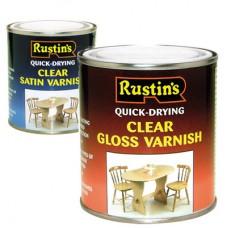 Быстросохнущие прозрачные лаки (внутренняя обработка) Clear Varnish