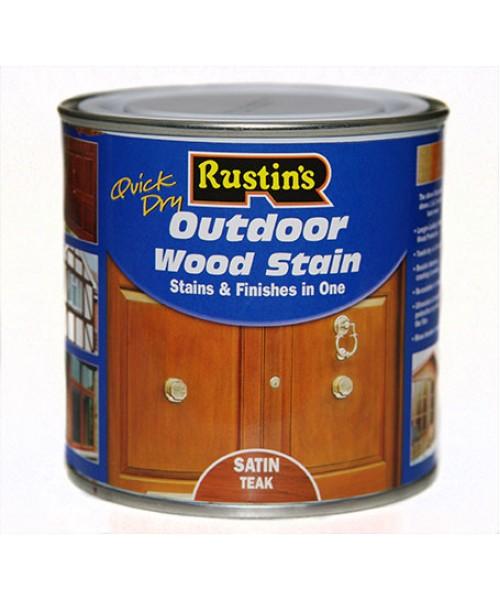 Цветной акриловый лак на водной основе Q/D Outdoor Wood Stain для внешних работ