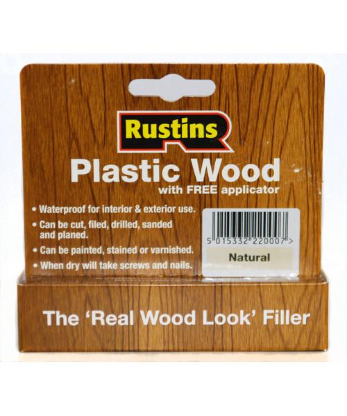 Мастика для заделки трещин и отверстий в древесине Plastic Wood