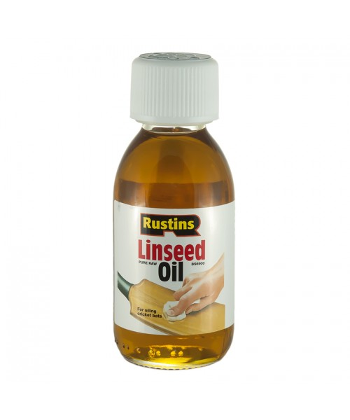 Льняное масло Чистое Rustins Raw  Linseed Oil