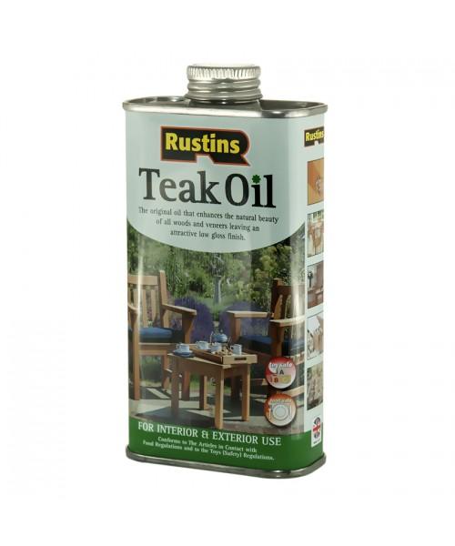 Тиковое масло  Rustins Teak Oil